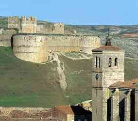 Castillo y Colegiata de Berlanga de Duero