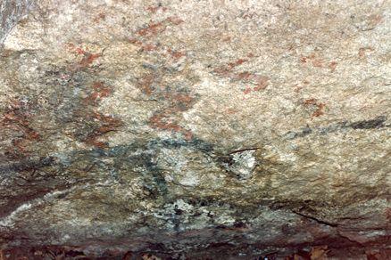 Pinturas en pedra cuberta