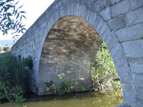 Puente de santa yusta aguas abajo.