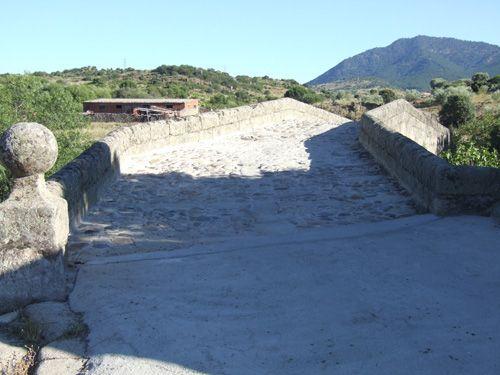 Acceso norte al puente de santa yusta.