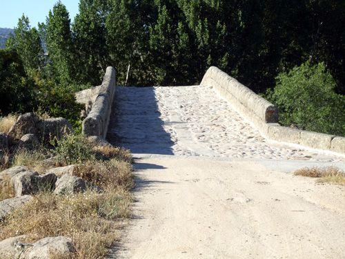 Acceso sur al puente de santa yusta.