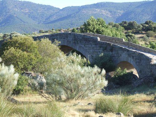 Puente de valsordo aguas abajo.