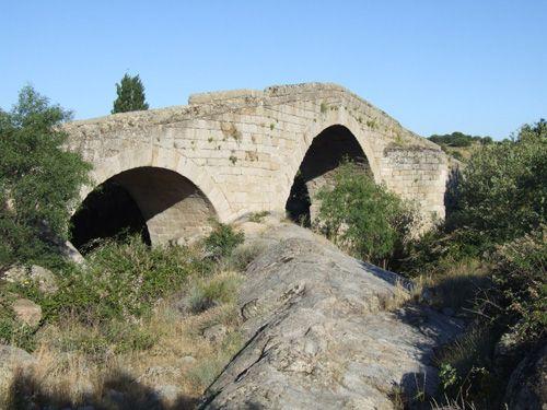 Puente de valsordo aguas arriba.
