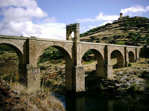 el puente de alcantara