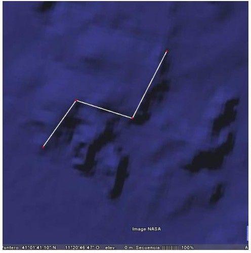Islas cassiterides ? barco fenicio de 30 m ?