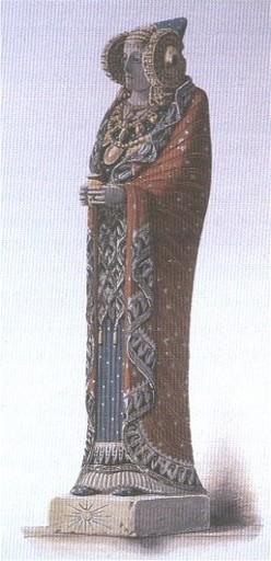 Resultado de imagen de la tunica de la dama de elche