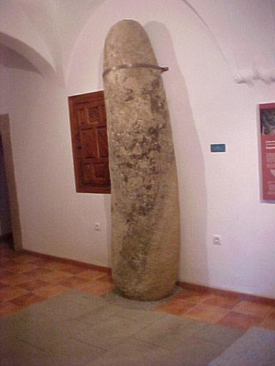 Menhir de quintana de la serena badajoz for Piscina quintana de la serena