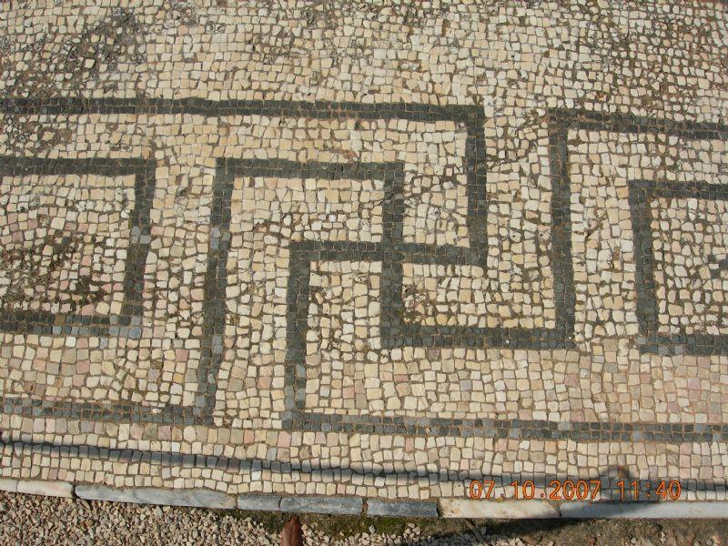 Cerro da Vila, Portugal - Cruz suástica romana